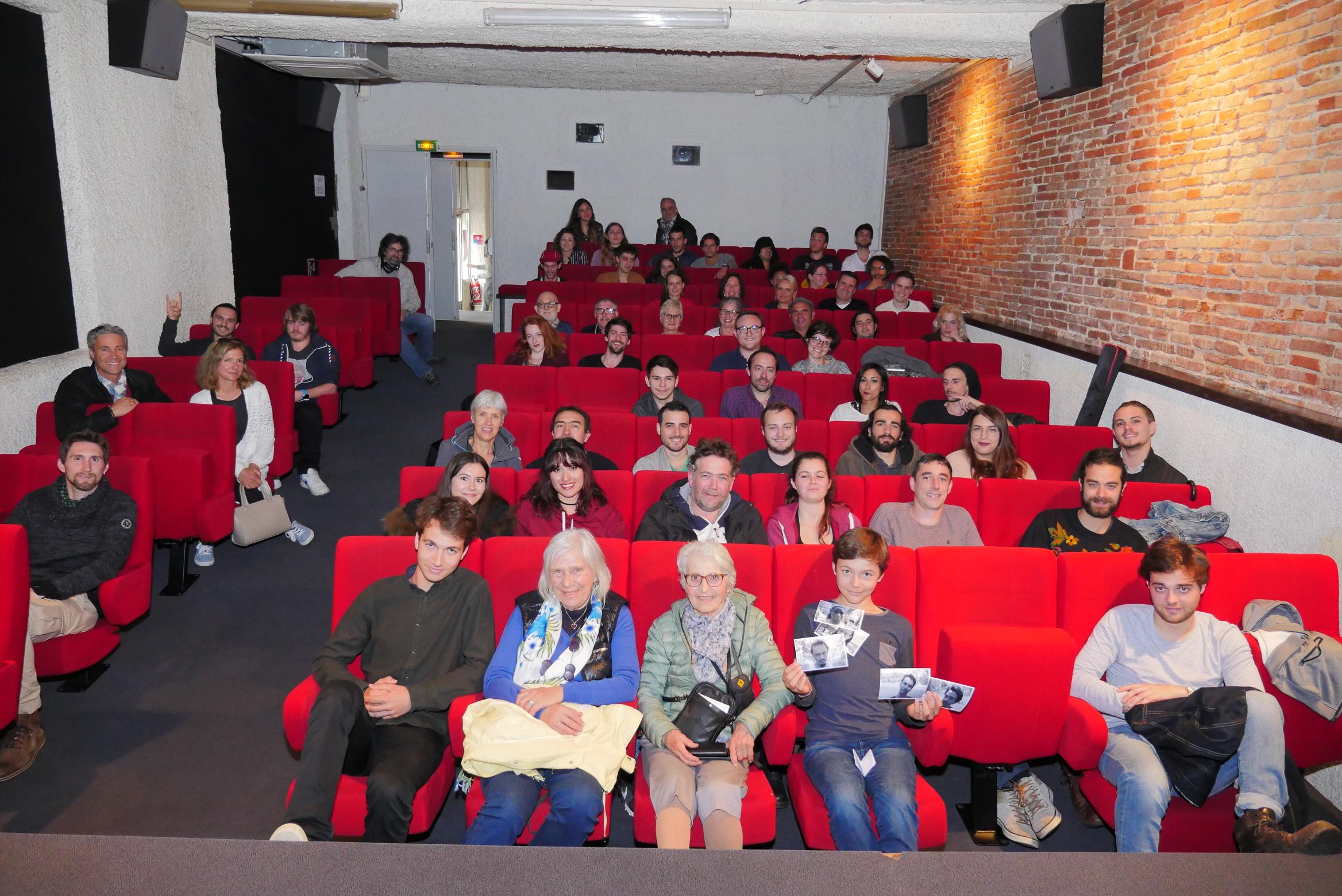 Projection Les Éphémères au Cinema Le Cratère á Toulouse
